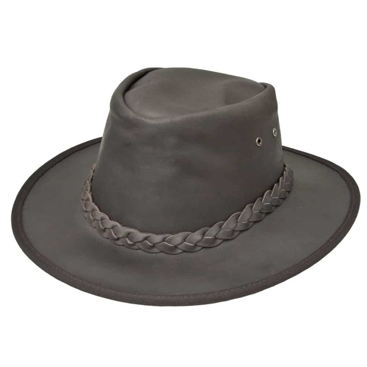 Wombat Ridge Hill Foldable Style Leather Hat