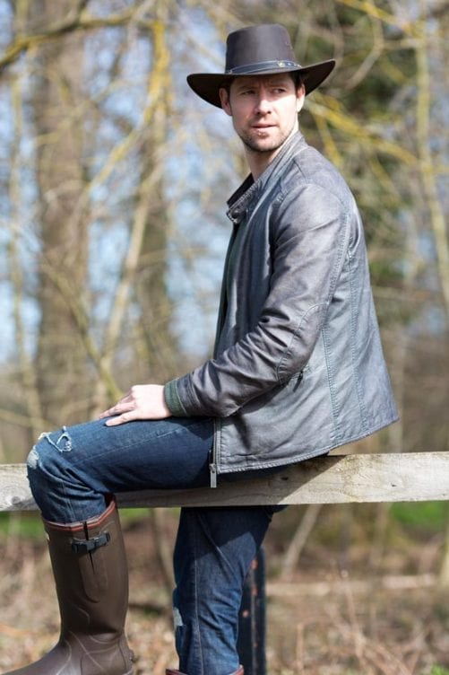 Buy Yourself the Perfect Men's leather hats Wombat Leather