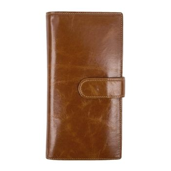 Wombat Artisan Range Ladies Ultra Soft Brown Leather Wallet Purse
