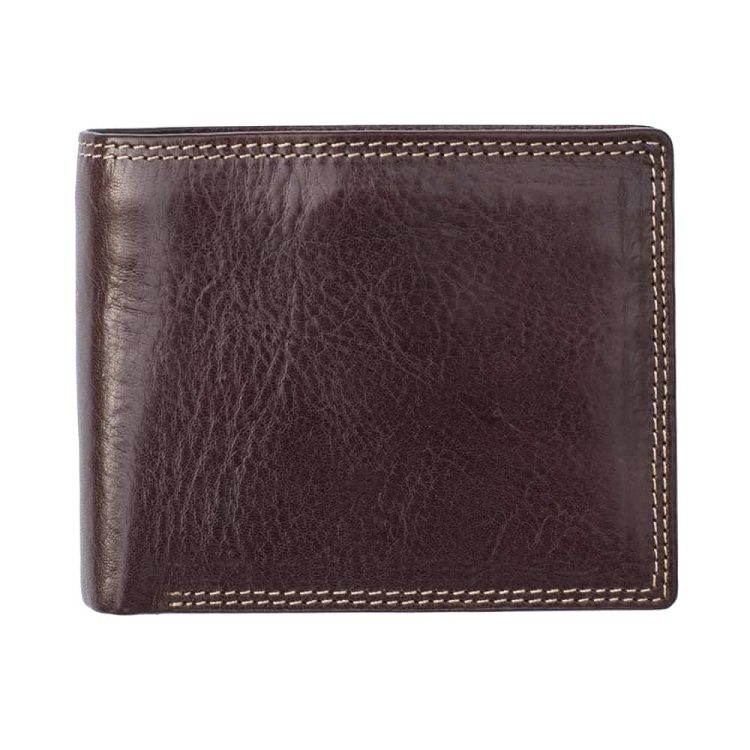 Wombat Artisan Mens Luxury Italian Vegetable Tanned Leather Wallet 6156