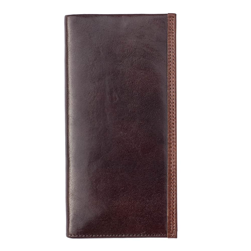 11Wombat Men's Artisan Luxury Italian Brown Leather Jacket Wallet