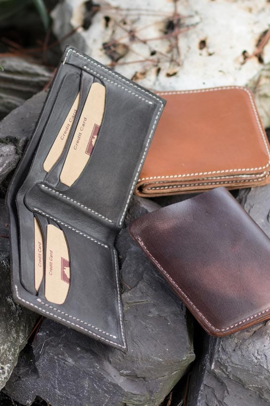 rugged mens wallet