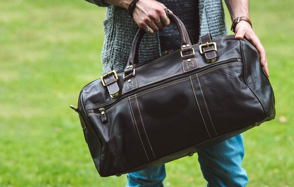 The Perfect Leather Weekend Bag and Overnight Bags Wombat Leather