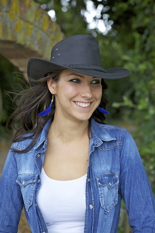 Add a Sense of Adventure to Your Wardrobe with an Australian Bush Hat Wombat Leather
